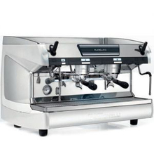 Кофемашина-полуавтомат NUOVA SIMONELLI Aurelia II 2Gr S 220V white pearl+LED+high groups
